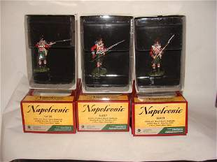 Lot of 3 Britain Toy Soldiers Napoleonic 36028