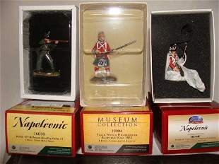 Lot of 3 Britain Toy Soldiers Napoleonic 50044C