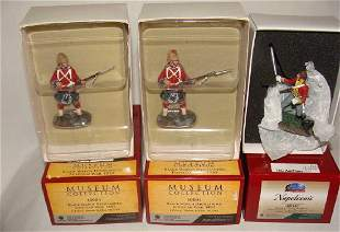 Lot of 3 Britain Toy Soldiers Museum 10004