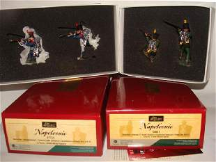 Lot of 2 Britain Toy Soldiers Napoleonic 17724