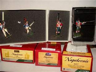 Lot of 3 Britain Toy Soldiers Napoleonic 17847