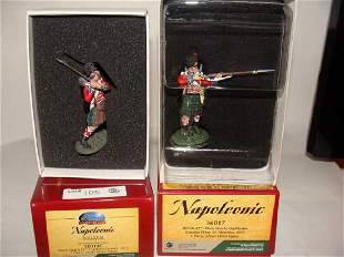 Lot of 2 Britain Toy Soldiers Napoleonic 50014C