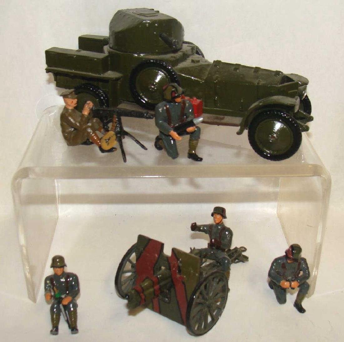 Assorted Lot of Britain Toy Soldiers