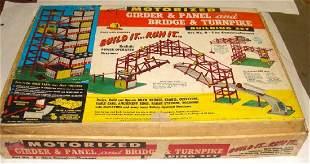 Girder Panel Bridge Building Set Toy