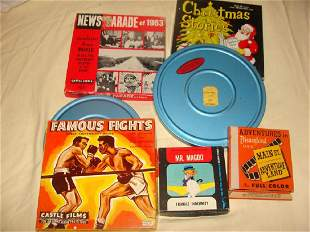 Collection of Vintage Movie Reels