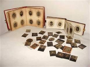 Grouping of Antique Gem Photos