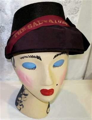 Antique Salvation Army Hat1880