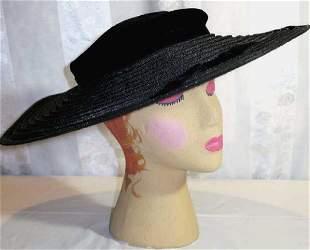 Vintage Picture Hat 1950