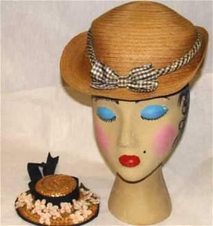 Antique Youths Cloche Hat