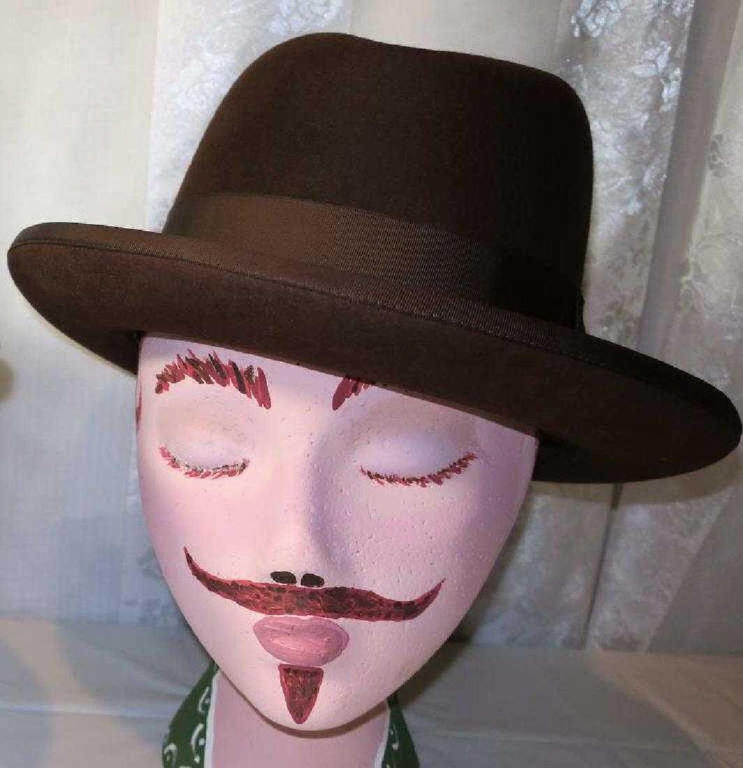 4d4d380055b Vintage Men s Brown Homburg Hat
