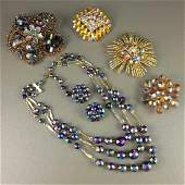 Vintage Assorted Costume Jewelry Lot
