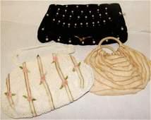 Vintage Lot of 3 Handbag, Purse