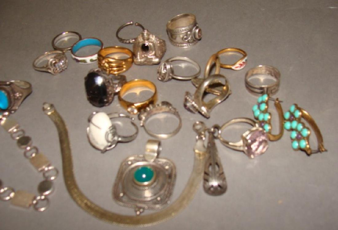 Assorted Lot of Sterling Jewelry - 2