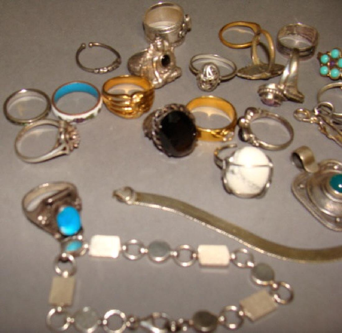 Assorted Lot of Sterling Jewelry - 3
