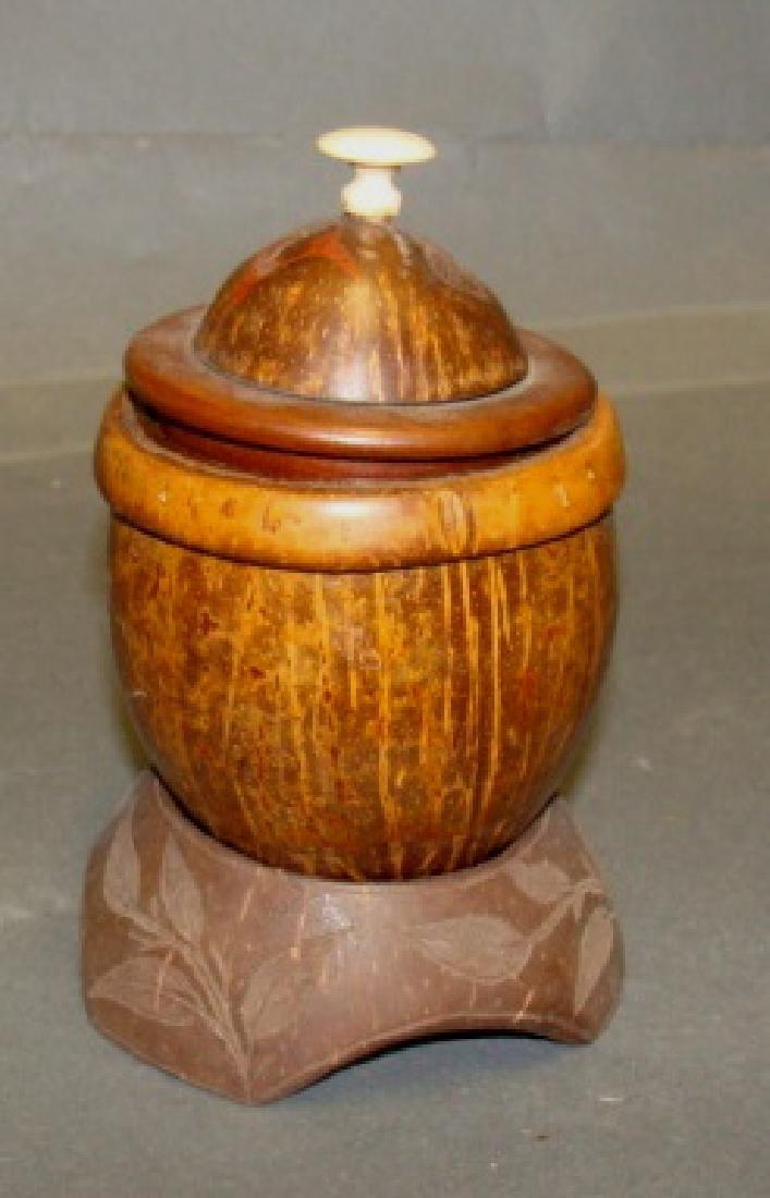 Antique Sailors Art Coconut Cup