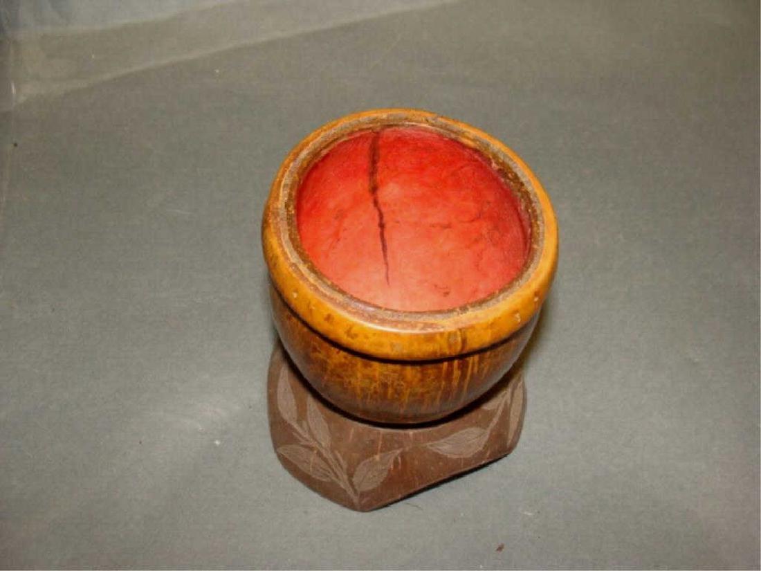 Antique Sailors Art Coconut Cup - 2