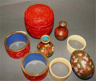 Lot of 8 Chinese Items