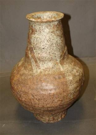 19th C Large Bulbous Vase