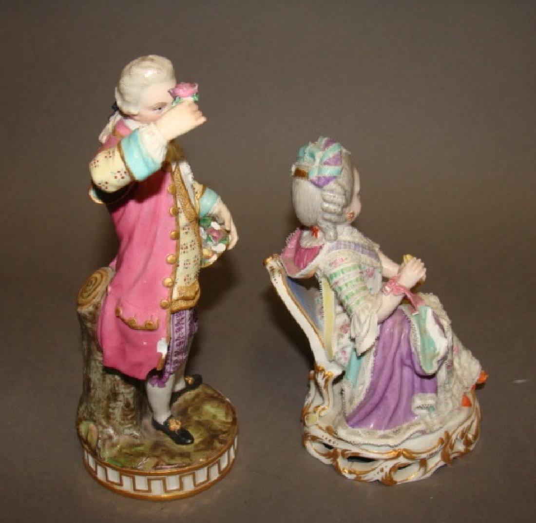 Lot of 2 Meissen Figurines - 2