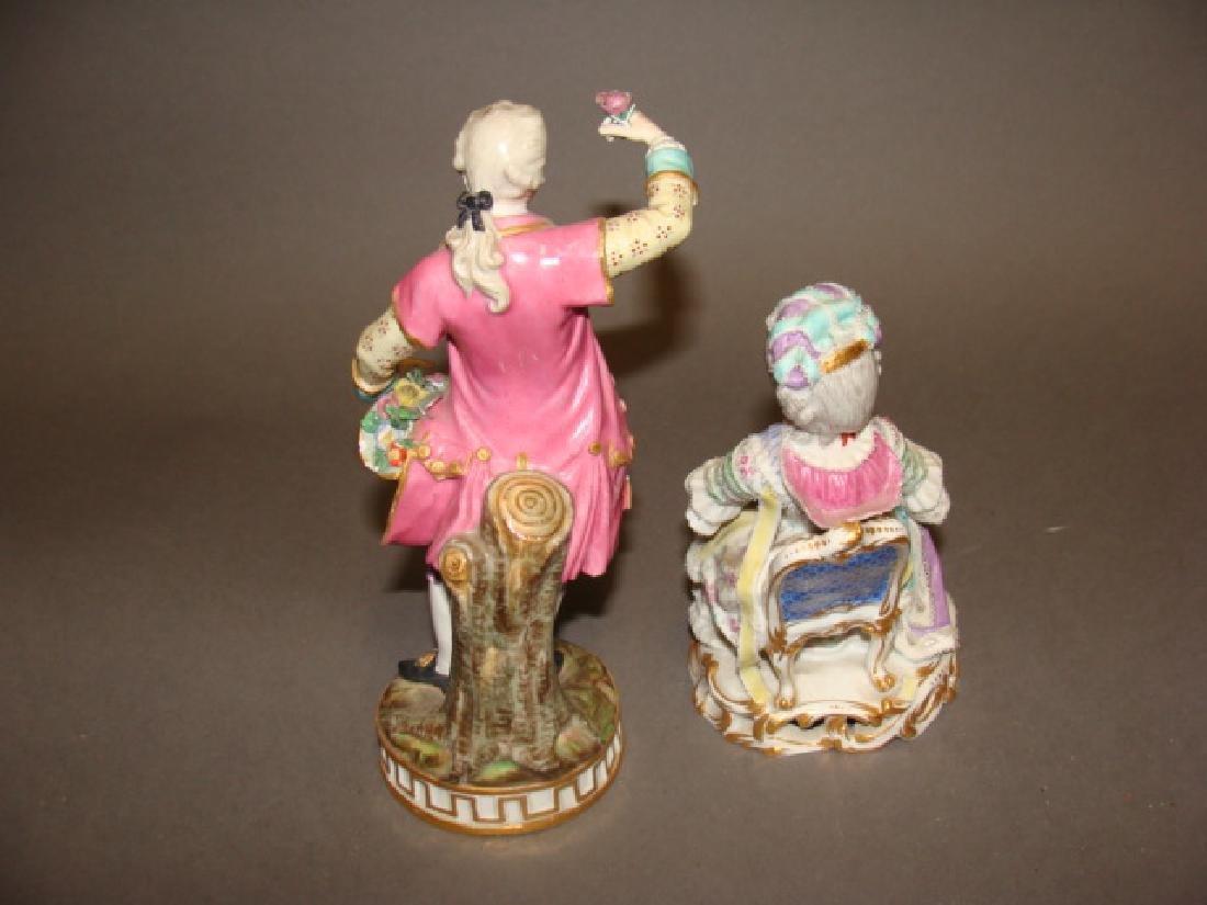 Lot of 2 Meissen Figurines - 3