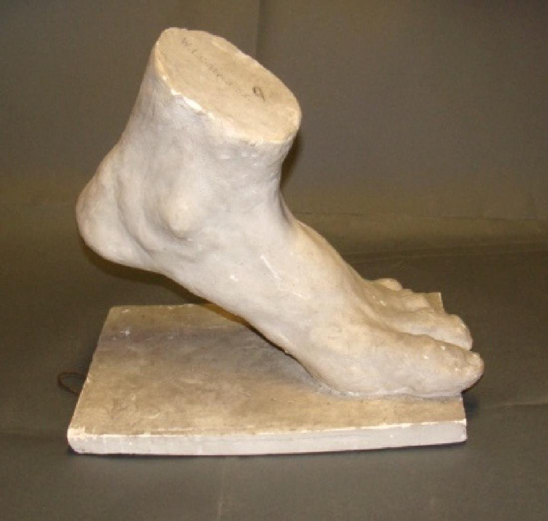 Big Foot Art Sculpture