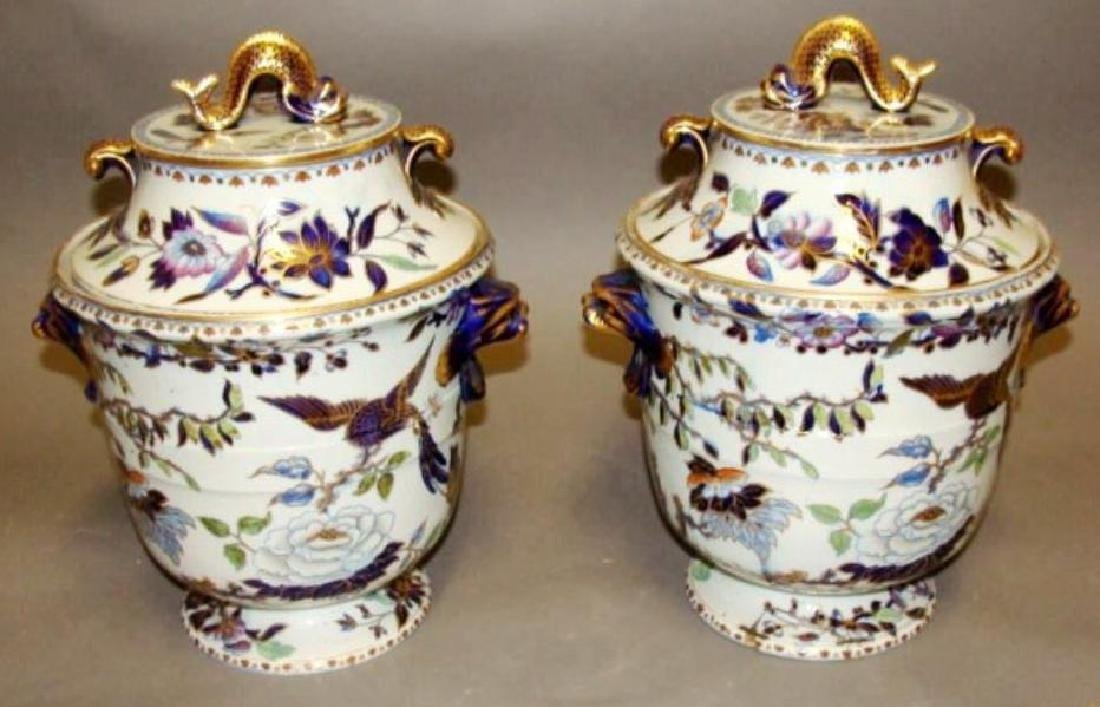 Pair Early 19th C  Fruit Coolers