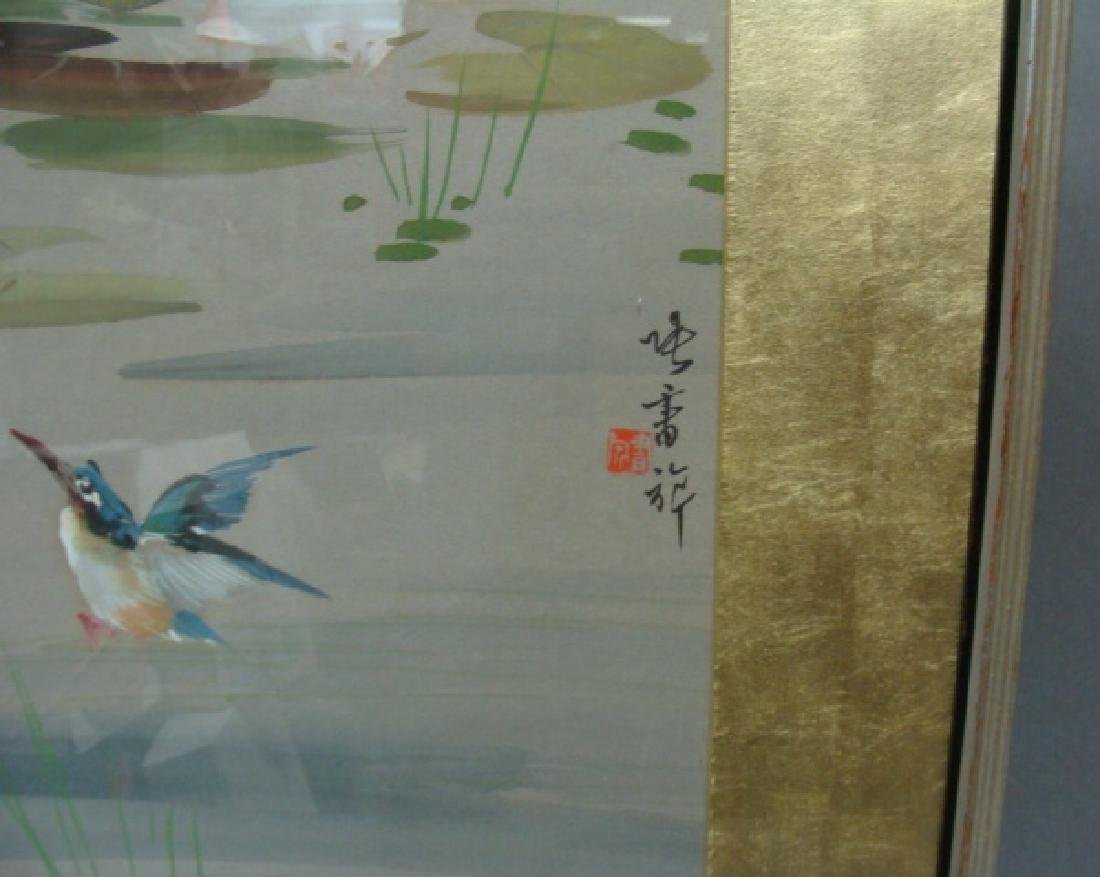Chinese Watercolor on Paper - 2