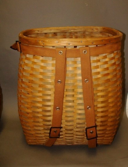 Wicker Hiking Basket, 1930, L. L. Bean