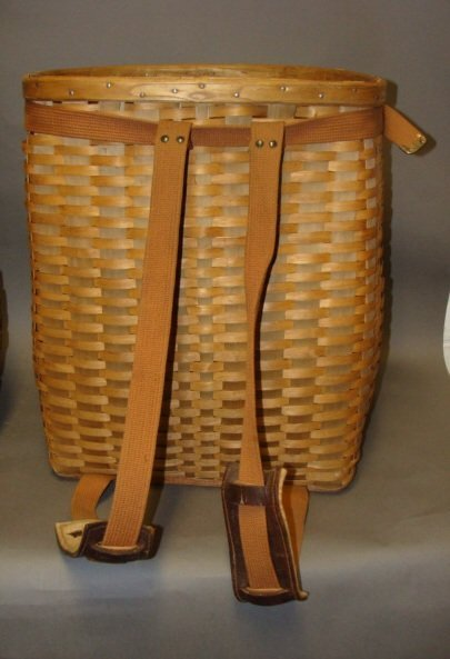 Wicker Hiking Basket, 1930, L. L. Bean - 2