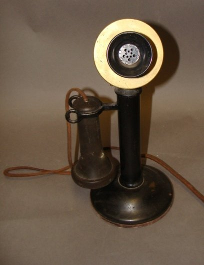 Antique Candlestick Telephone - 2