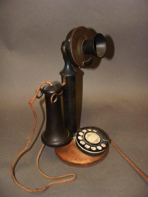 Antique Candlestick Telephone - 2
