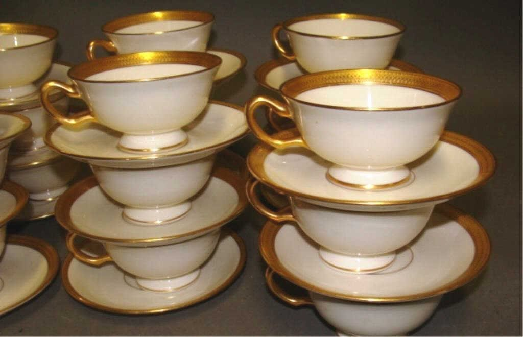 Set of 18 Tiffany for Lenox Cups and Saucers - 2