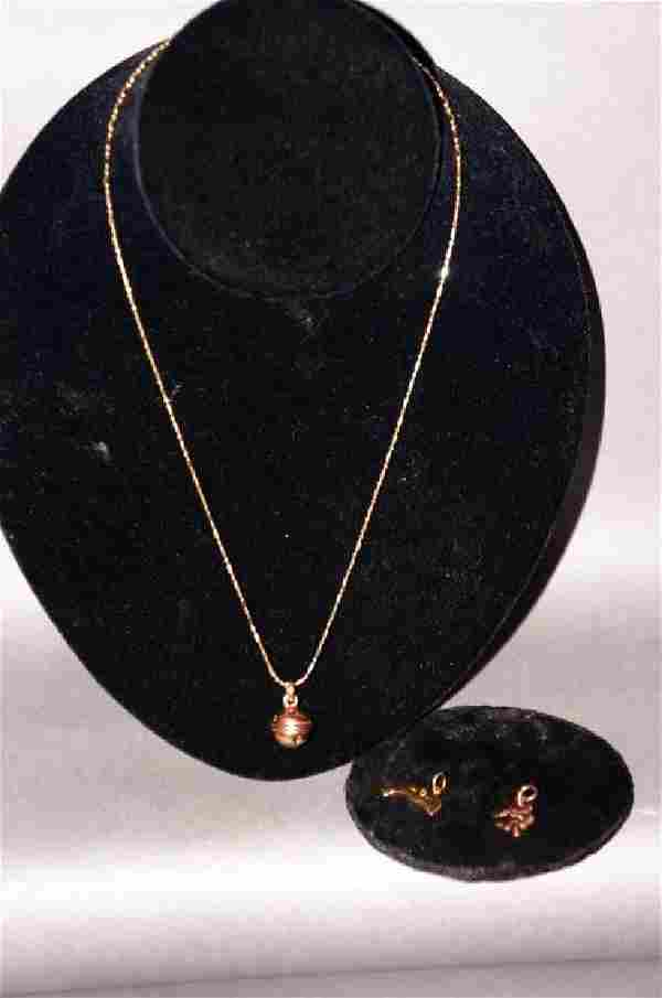 14kt Gold Jewelry Grouping