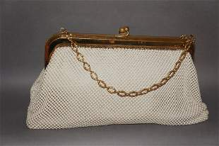 Whiting and Davis Mesh Purse Handbag