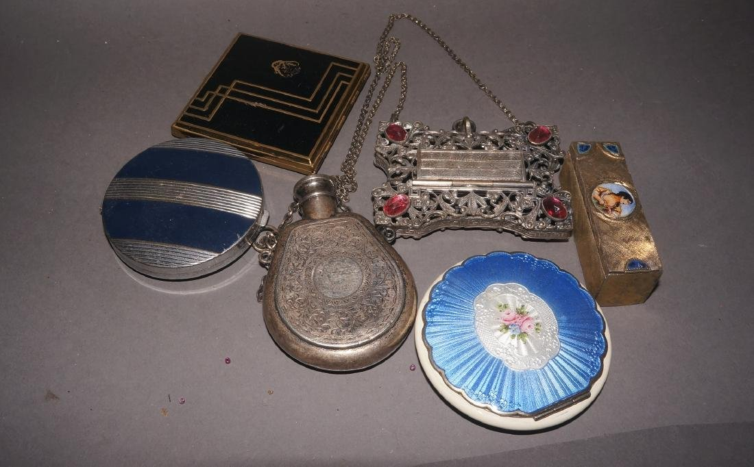 Vintage Compacts and Coin Purse