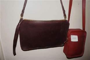 Vintage Coach Leather Purses Handbags