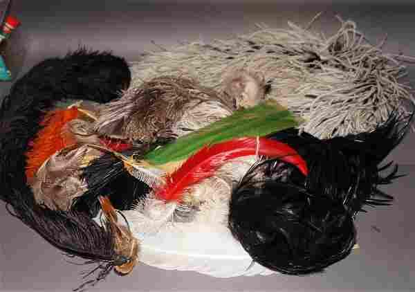 Antique, Vintage Ostich Feathers