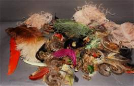 Vintage Plumes and Feather Group