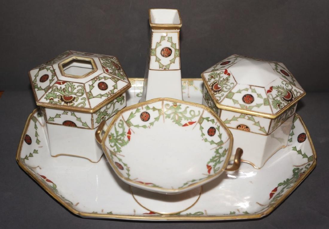 Vintage Porcelain Nippon Dresser Set