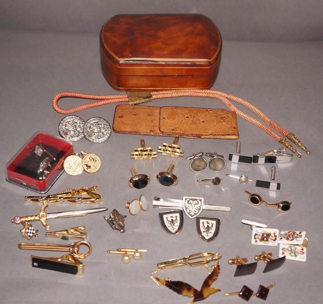 Vintage Men's Jewelry Cufflinks Lot
