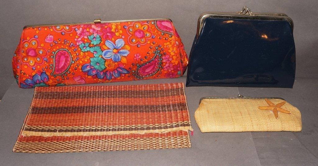 Vintage Clutch Purses, Handbags