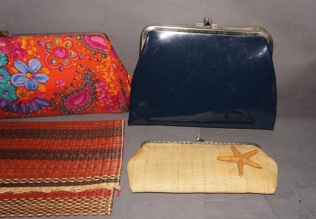 Vintage Clutch Purses, Handbags - 3