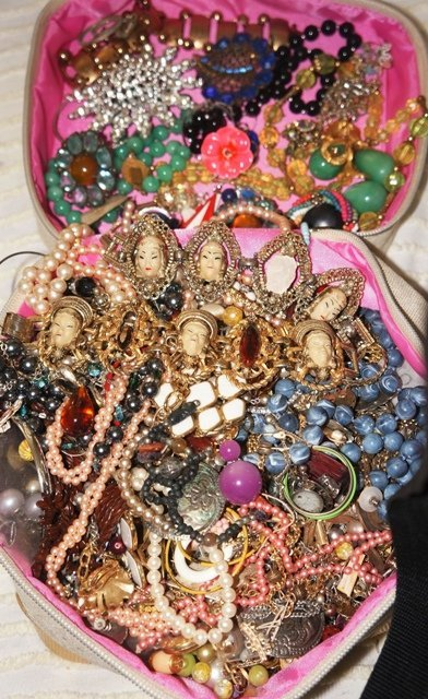 Mystery Repurpose, Recycle Jewelry Lot