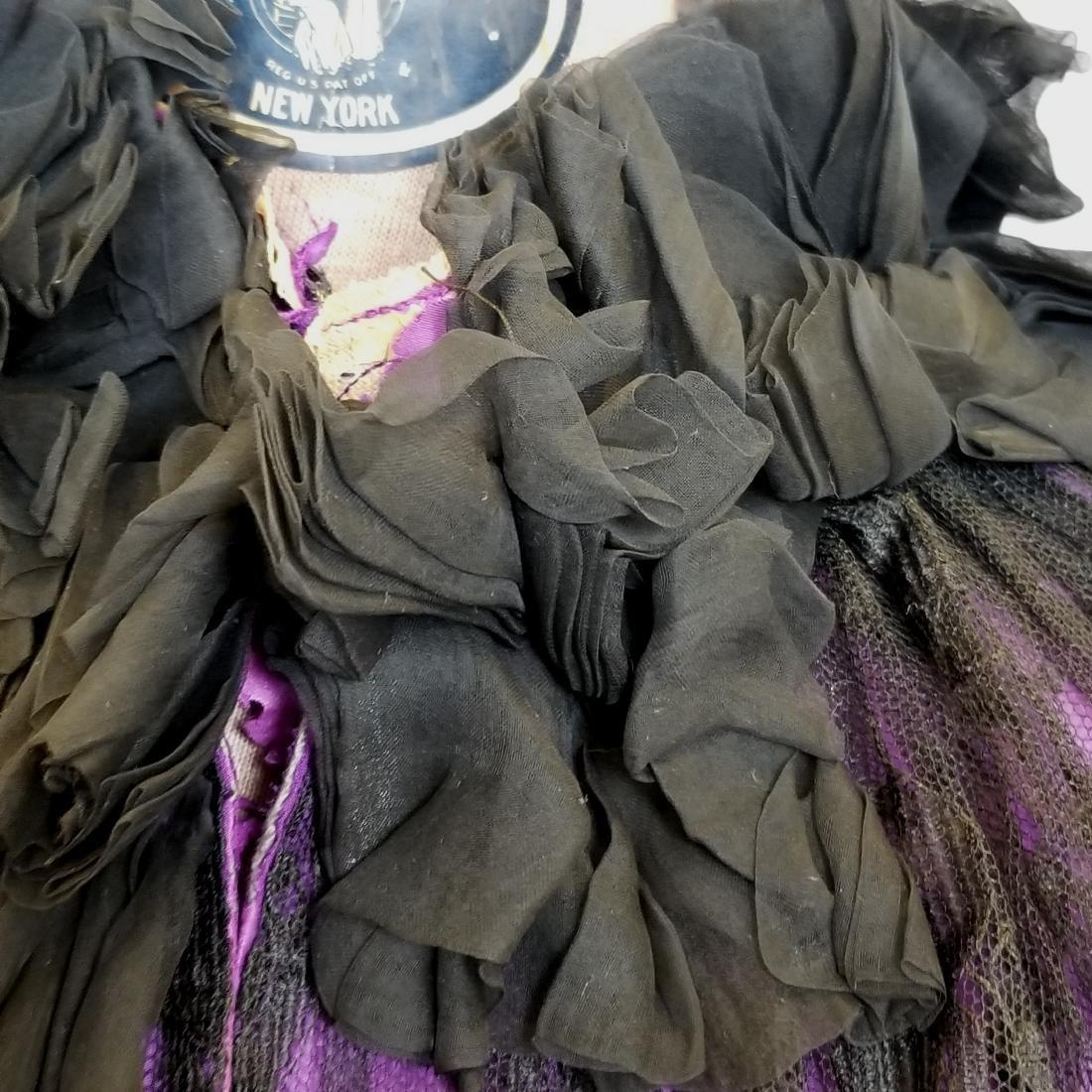 Black Lace Shoulder Cape - 4