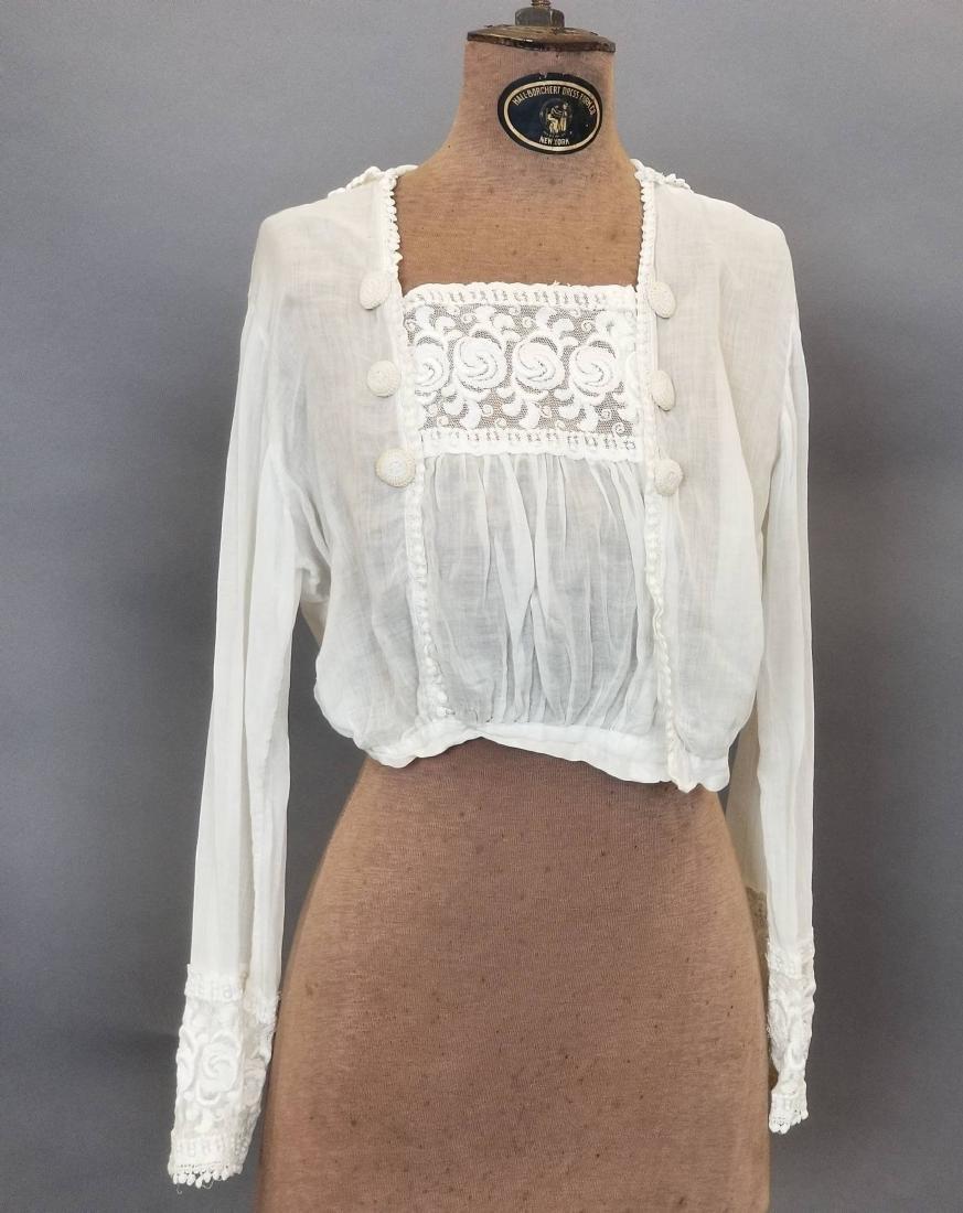 Three Piece White Day Dress - 5