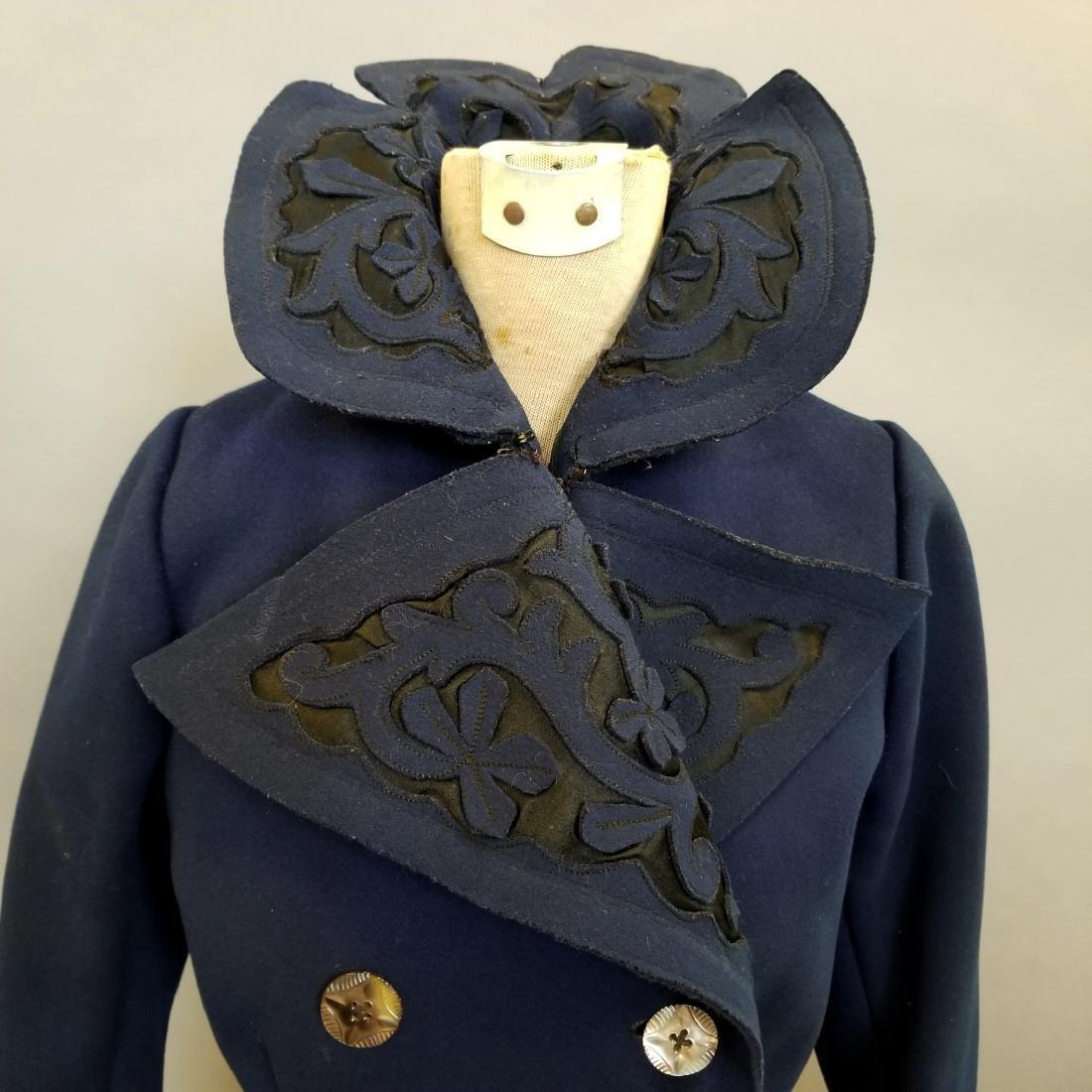 Blue Wool Jacket - 2