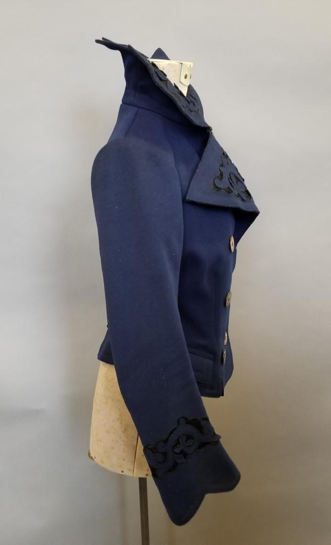 Blue Wool Jacket - 3