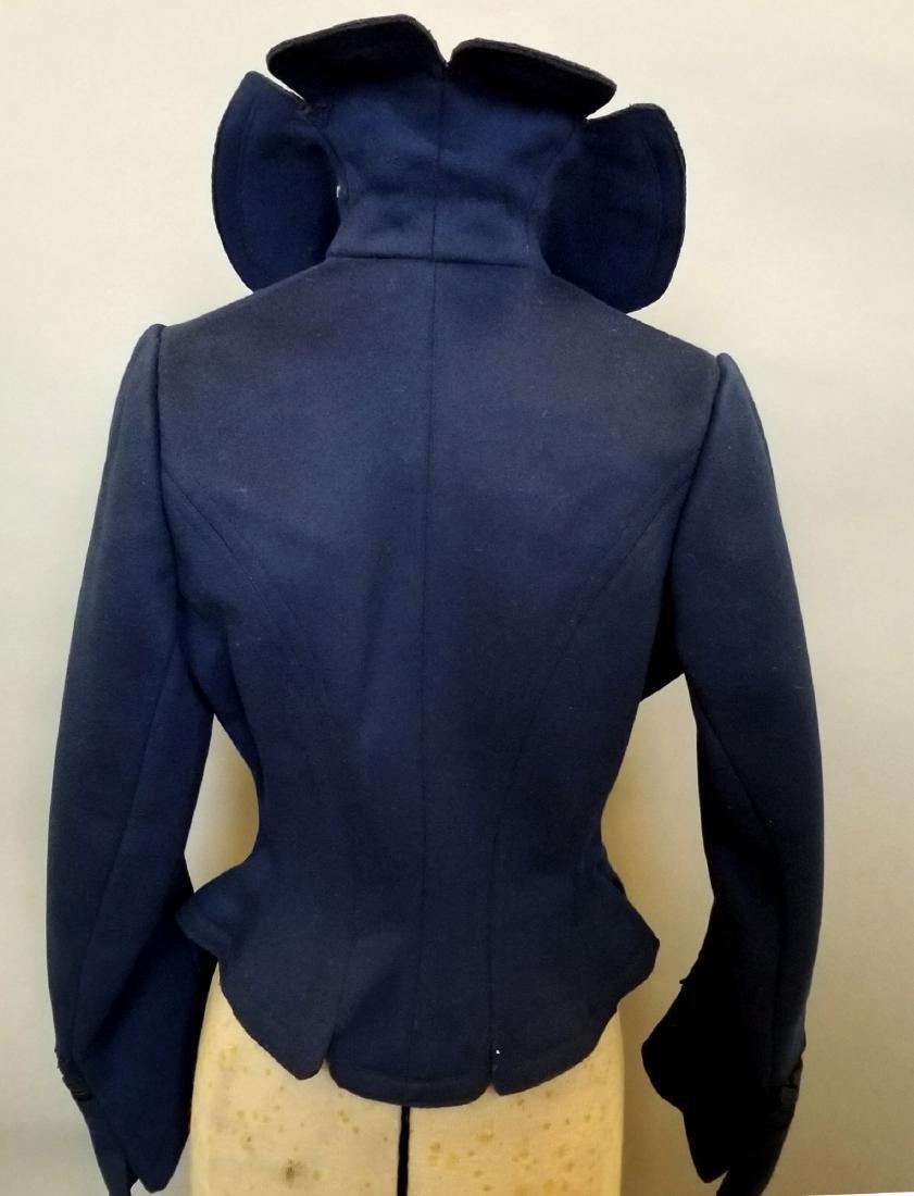 Blue Wool Jacket - 4