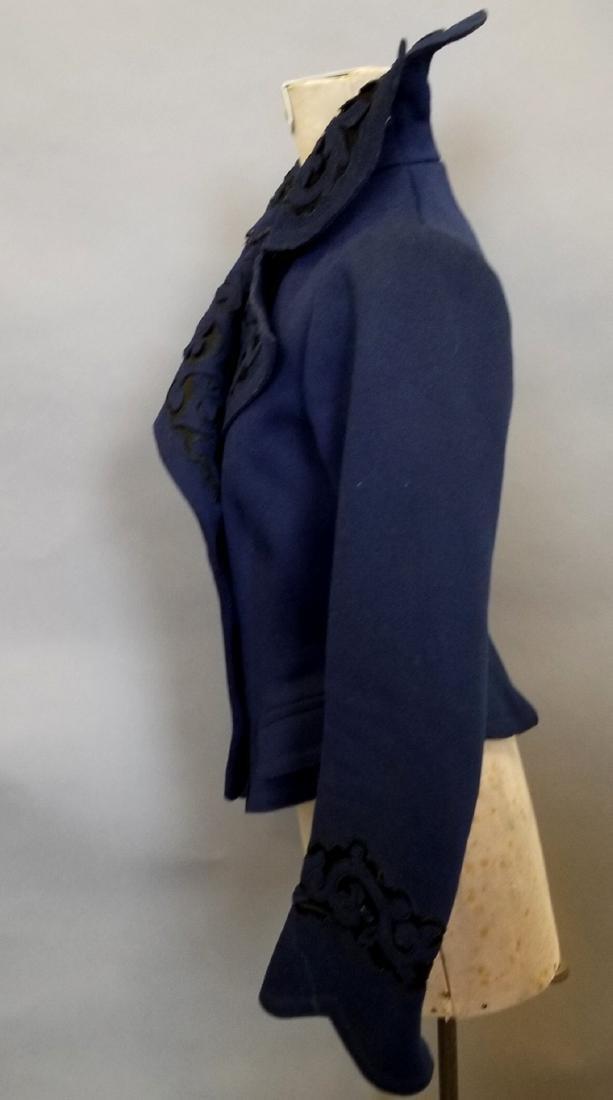 Blue Wool Jacket - 5