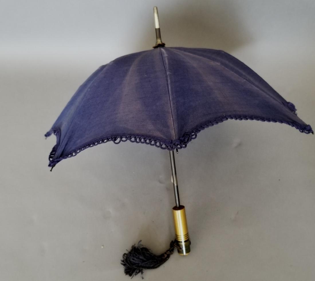 Blue Carriage Parasol